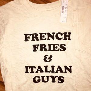 NWT J. Crew hysterical shirt! Just my taste lol!